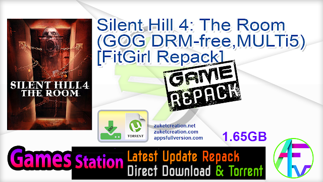 Silent Hill 4 The Room (GOG DRM-free, MULTi5) [FitGirl Repack]