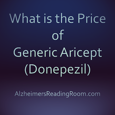 What is the price of generic Aricept