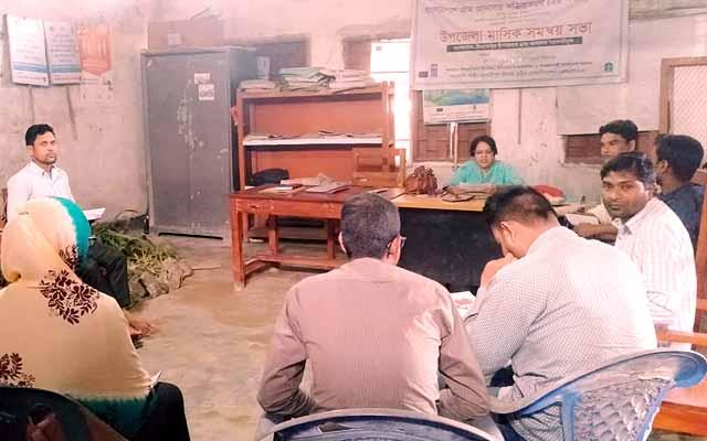 ইসলামপুর গ্রাম আদালতের মাসিক সমন্বয় সভা অনুষ্ঠিত