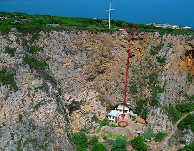 Προσκυνητής στο Άγιο Όρος βούτηξε στο κενό κρατώντας μια εικόνα της Παναγίας