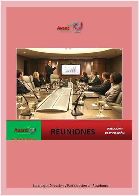 manual Liderazgo de reuniones
