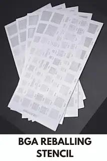 bga reballing stencil template