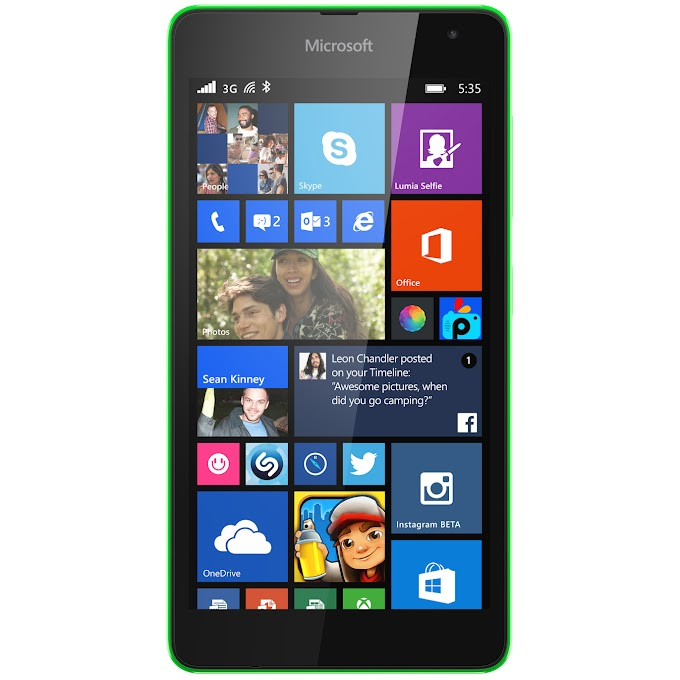 Microsoft Lumia 535 receives new OS and firmware update, likely addresses display touch issues