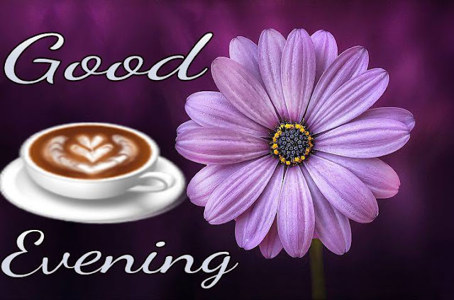 Good evening image with coffee