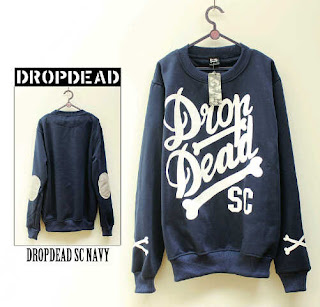 Jaket Fleece Hoodie - Dropdead DROP006