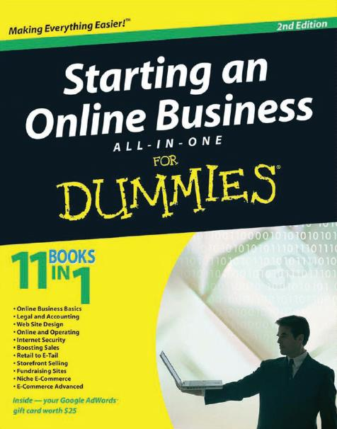 Starting an Online Business All-in-One For Dummies®, 2nd Edition