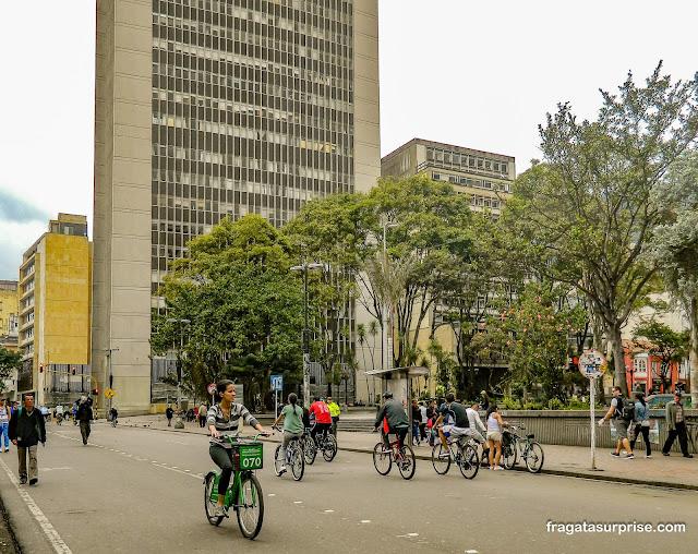 Bicicletas em Bogotá