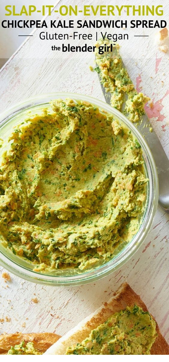 Kale Chickpea Sandwich Spread