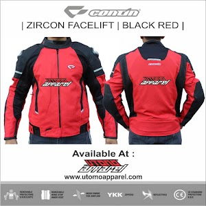 Contin Zircon Red Black