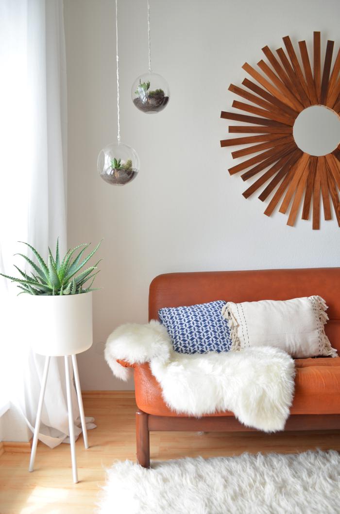 make it boho upcycling mid century modern blumenst nder. Black Bedroom Furniture Sets. Home Design Ideas