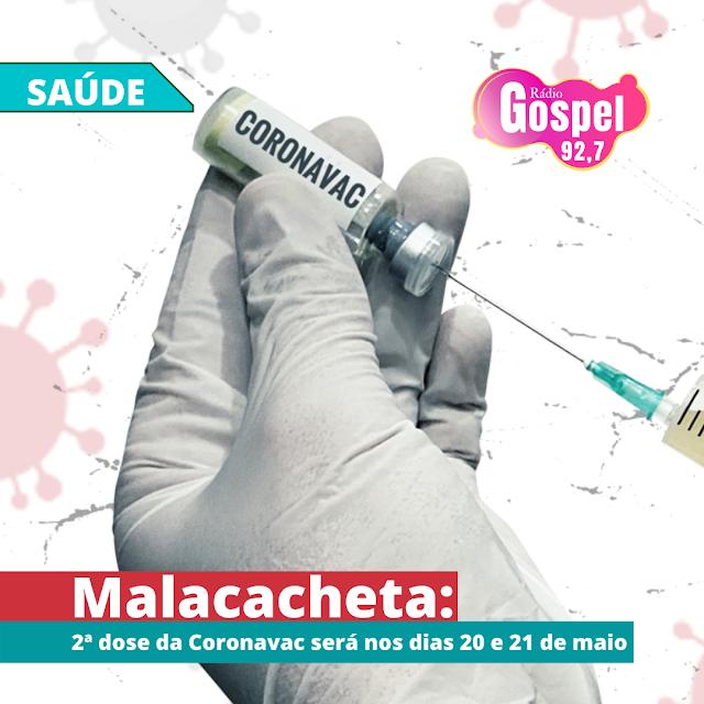 Malacacheta: 2ª dose da CORONAVAC