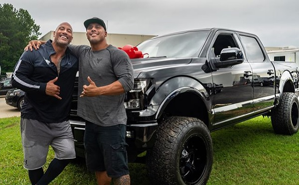 "Dwayne ""The Rock"" Johnson Ford F-150 Tanoai Reed"