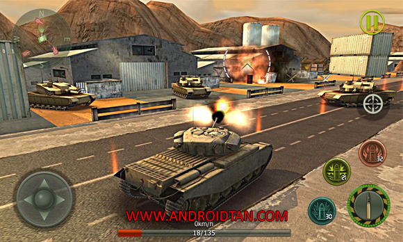 Download Tank Strike 2016 Mod Apk v1.5.4 (Unlimited Money) Android Terbaru 2017 Free