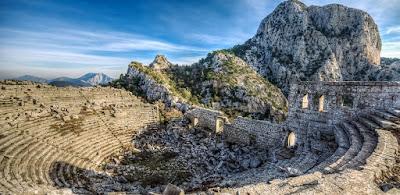 Keindahan Termessos Di Gunung Gulluk Turki