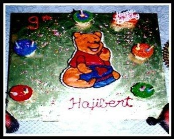 Ajantha Cakes/ Birthday Cake/Winnie the phoo