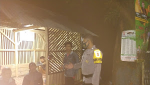 Binmas Cipaku Polsek Paseh Polresta Bandung, Pastikan Keamanan Dengan Imbau 3M