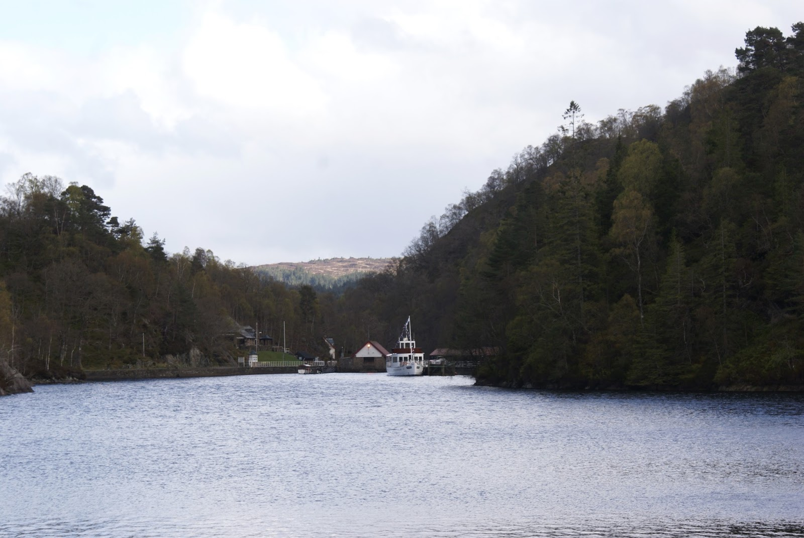 loch katrine trossachs scotland uk