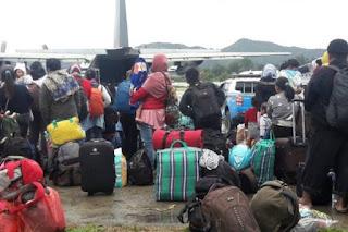 Tragedi Wamena, Ribuan Warga Terpaksa Mengungsi