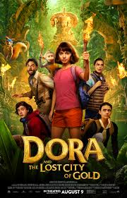 Download Dora and the Lost City of Gold (2019) Hindi Dual Audio 720p BRRip