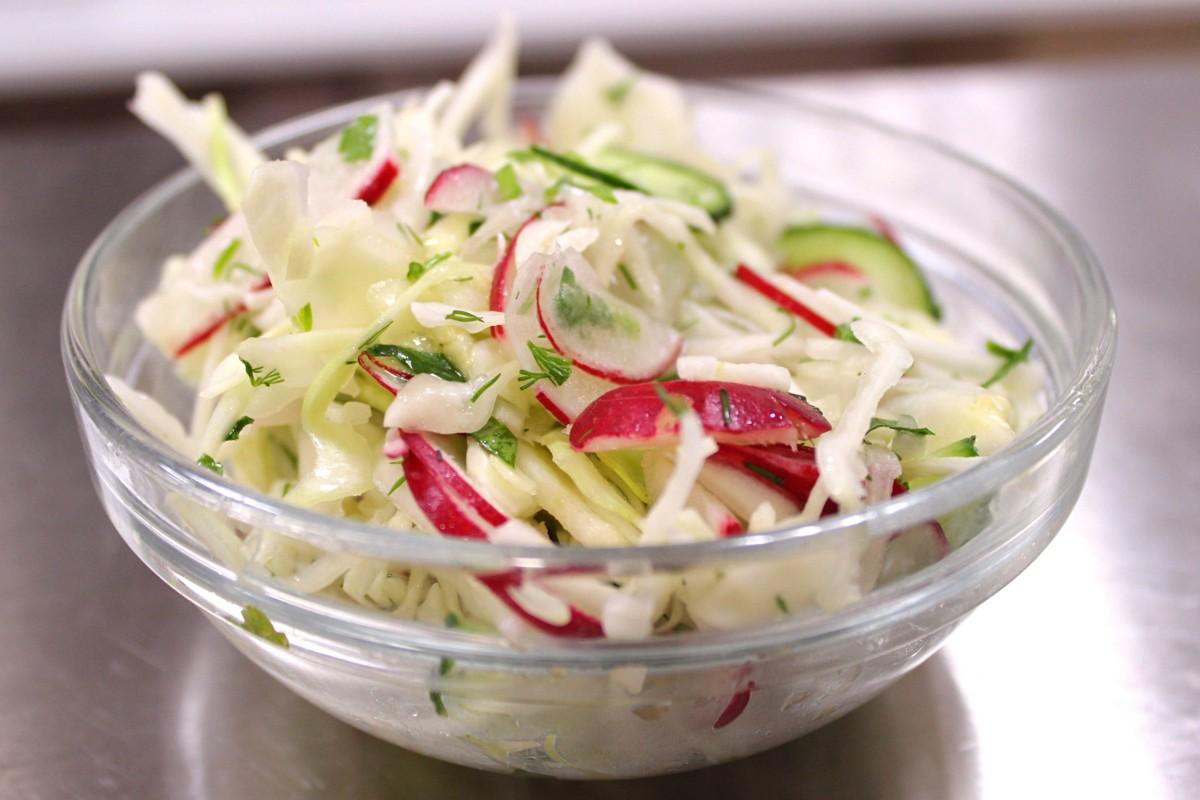 Салаты Для Диеты Капустой. Салат из капусты для похудения: диетические рецепты приготовления