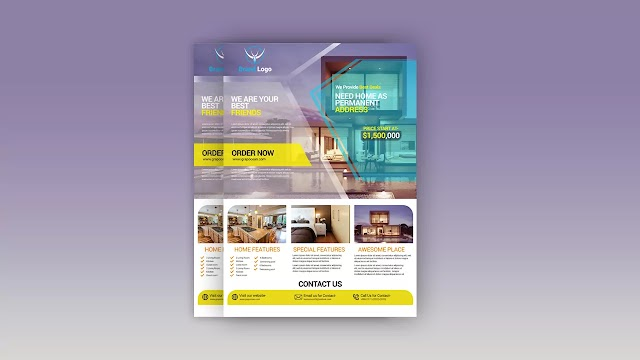 Create Professional Business Flyer PSD Template Design   Adobe Photoshop Tutorial