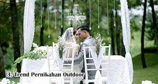 Trend Pernikahan Outdoor di Era Pernikahan New Normal