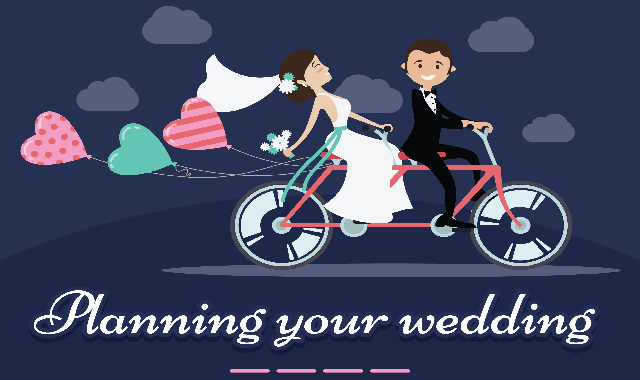 Planning your wedding #infographic