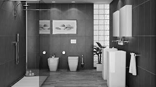 wc cinzento