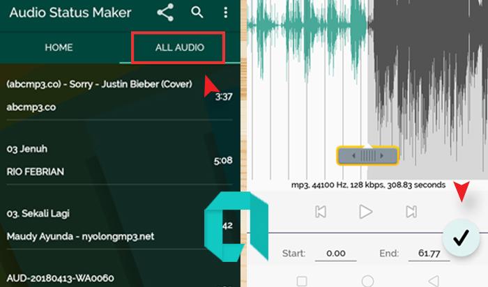 Cara Membuat Status Musik Di  WhtasApp Mudah Banget