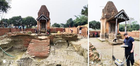 बेलायती अध्येताद्वारा पतौरा मन्दिरको पुरातात्विक अध्ययन, हजार वर्षभन्दा पुरानो कर्णाटकालीन मन्दिर