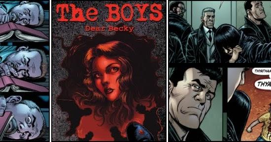 Dear Becky #1 Dynamite Entertainment 2020 The Boys