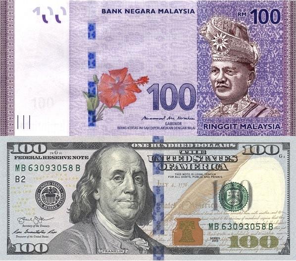 Tukaran Mata Wang Kadar Tukaran Wang Pertukaran Ringgit Malaysia Myr Kepada Dolar Amerika Syarikat Usd