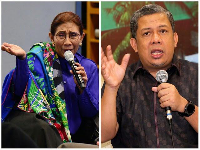 'Disemprot', Fahri Balik Bongkar Kesalahan Menteri Susi