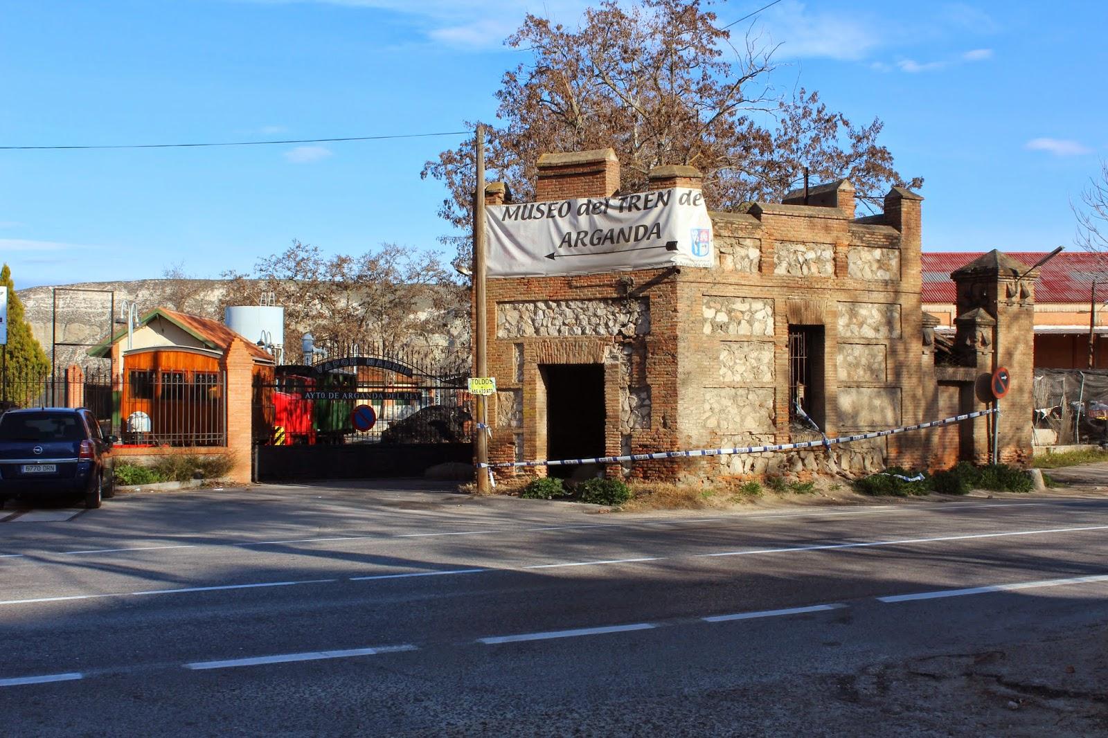 Patrimonio industrial arquitect nico estado actual del - Que ver en arganda del rey ...