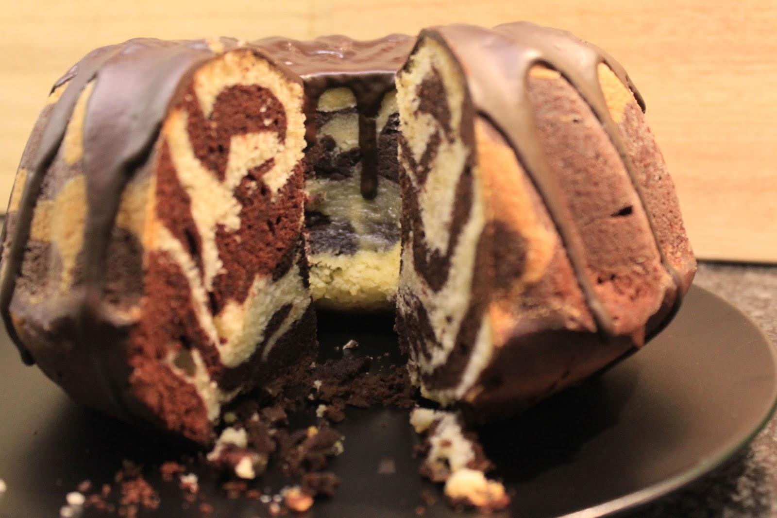 Chocoholics An Die Macht Mit Meinem Schokoladigen Zebra Kuchen