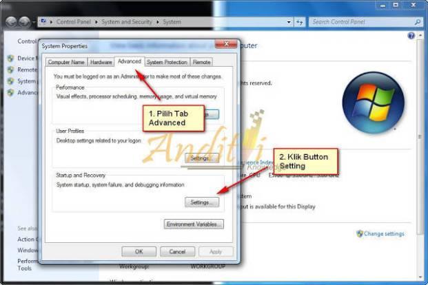 Cara Mengatasi Dan Menghapus Boot Windows 7 Loader XE Tutorial Lengkap Dan Tuntas