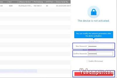 password cctv sadp tool
