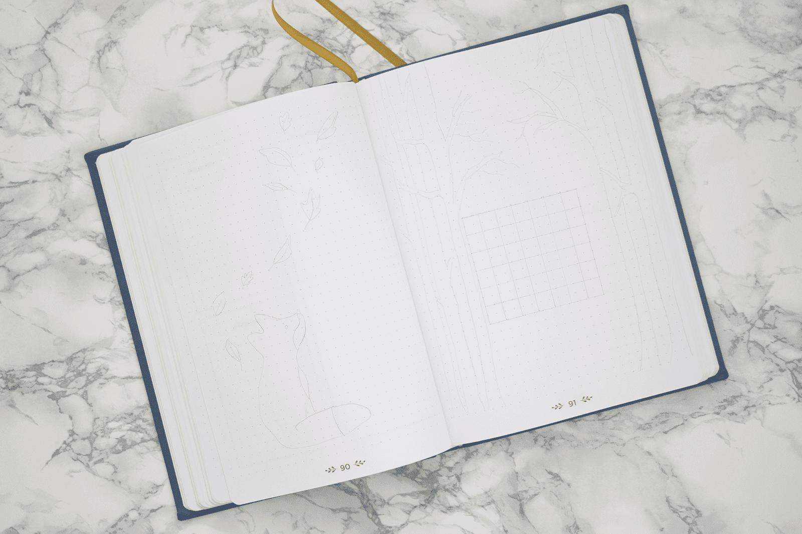 Bullet Journal Automne Novembre Planner
