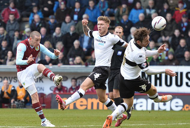 Prediksi Derby County vs Burnley 22 September 2015