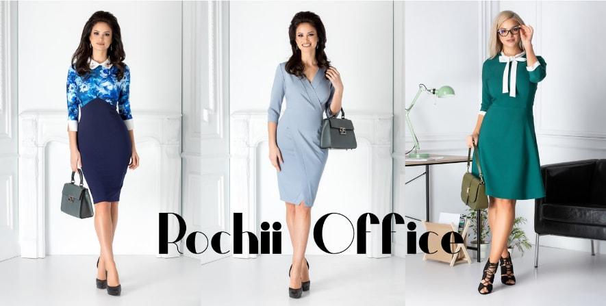 Rochii office ieftine si elegante pentru birou