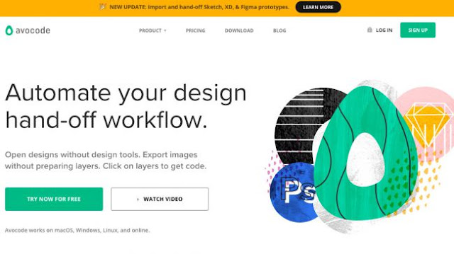 Avocode-Web Design tools to streamline your workflow and  boost creativity-Hire A Virtual Assistant
