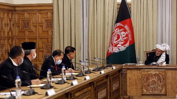 Cerita JK Saat Bertemu Taliban dan Presiden Afghanistan