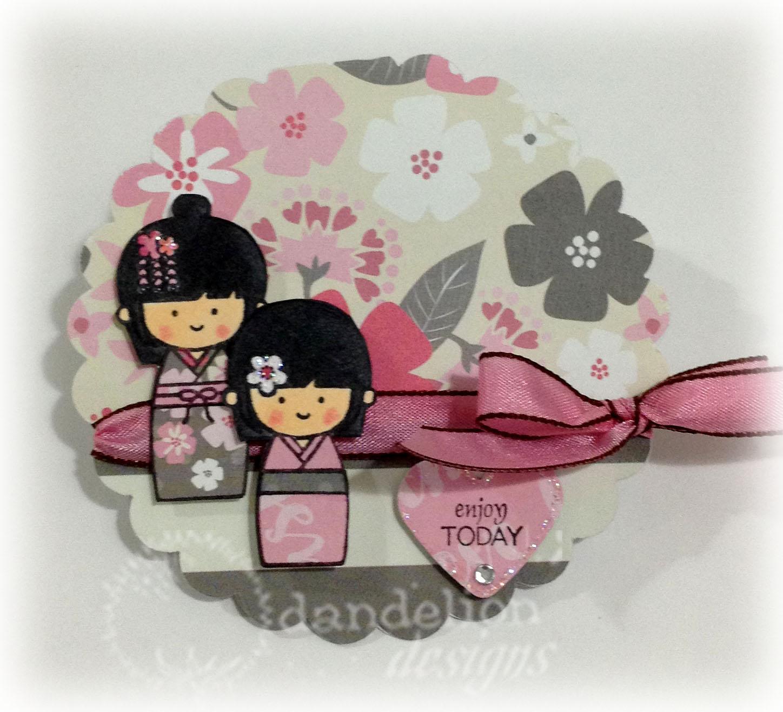 Dandelion Designs Circle Cards