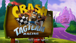 download Crash Tag Team Racing Game PSP For ANDROID - www.pollogames.com