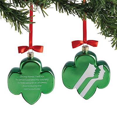 Girl Scout Trefoil ornament