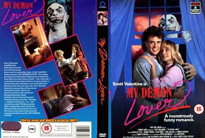 Carátula dvd: Mi diabólico amante