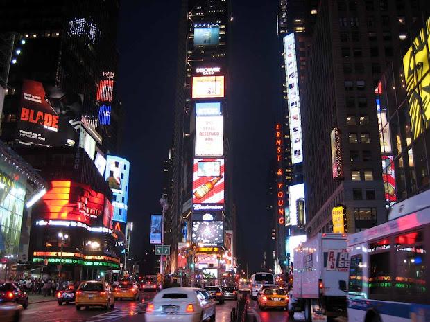 New York City Times Square Night