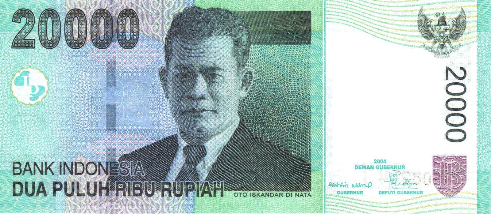 Rp.20000 - Tahun 2004 ~ Galeri Uang Rupiah Indonesia