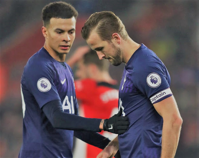 EPL: Harry Kane To Be Out Of Action Till April