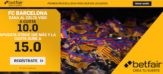 betfair supercuota liga Barcelona gana Celta 27 junio 2020